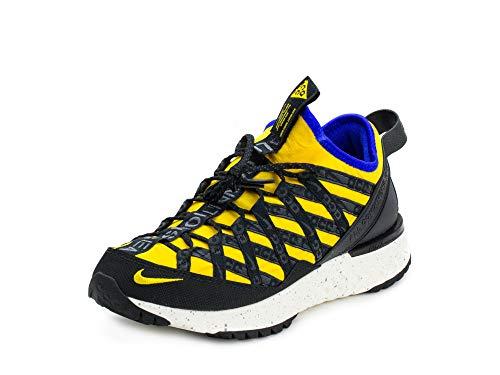 - Nike Mens ACG React Terra Gobe Amarillo/Blue-Blk Synthetic Size 9