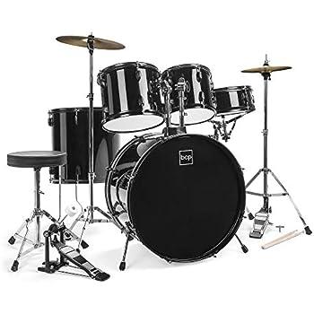 Amazon Com Stage Rocker 5pc Drum Set With Double Braced
