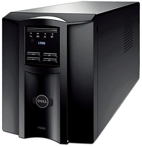 Dell DLT1500 Smart UPS - 1000 Watts - AC 120V - USB - Black (Certified Refurbished)