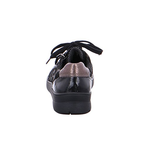Women's Lace up Black ara Flats 5wg1dYwq
