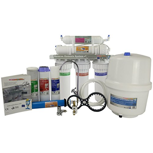 Water2Buy RO500 Reverse Osmosis Water Filter System Build for UK Home Removes up...