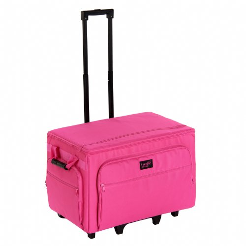 Creative Notions XXL Sewing Machine Trolley in Pink by Creative notion