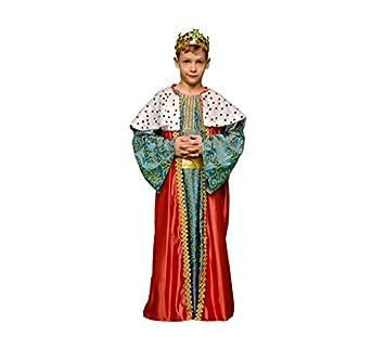 Disfraz de Rey Mago Rojo para niños en varias tallas: Amazon.es ...