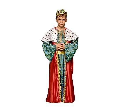 Disfraz de Rey Mago Rojo para niños en varias tallas