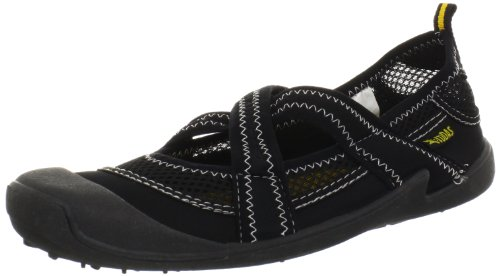 Cudas Women's Shasta Water Shoe,Black,8 M US