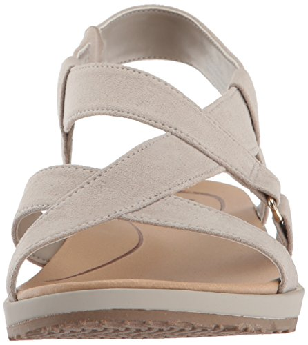 Dr. Scholl's Women's Preview Sandal Grey Microfiber SsxpEeUGB