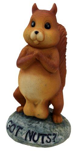 BigMouth Inc Nuts Garden Statue