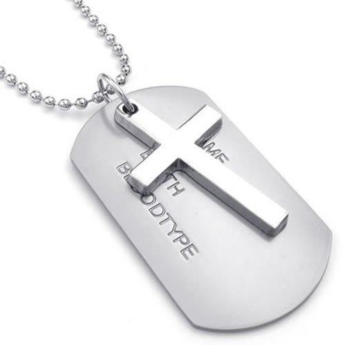 KONOV Style Pendant Necklace Silver