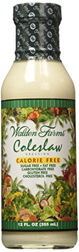 Walden Farms Salad Dressing Coleslaw 12 Oz (Pack of 6) by Walden Farms