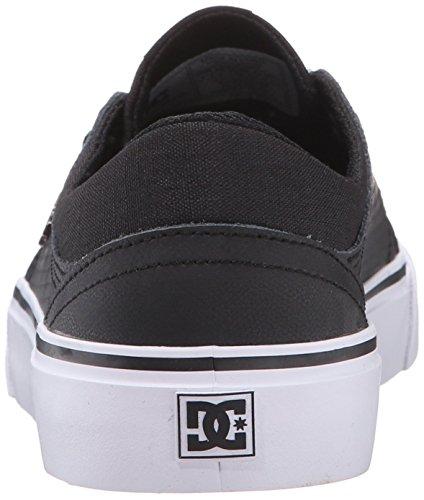 DC Mädchen Trase LE Low Top Schuhe, EUR: 40.5, Black/Black/White