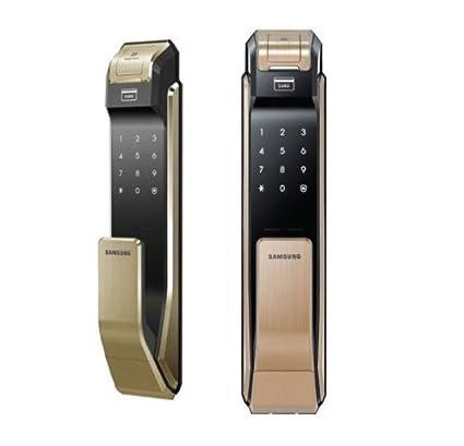 Samsung Digital Door Lock SHS-P718 Gold Fingerprint Push