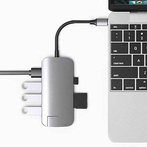 VAVA USB C Hub 8-in-1 Adapter with PD Power Delivery, 1Gbps Ethernet Port, SD Card Reader, 4K USB C to HDMI, 3 USB 3.0 Ports for MacBook Pro and Type C Windows Laptops by VAVA (Image #7)