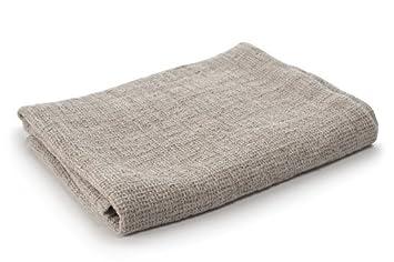 Europa toalla de baño - 100% lino - natural gris: Amazon.es: Hogar