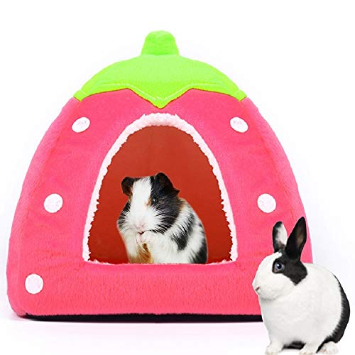 Spring Fever Hamster Guinea Pig Rabbit Dog Cat Chinchilla Hedgehog Bird Small Animal Pet Bed House Hideout Cage…