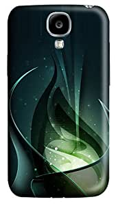 3D Green Consciousness And Beautiful Abstract Polycarbonate Hard Back Case Cover for Samsung Galaxy S4 SIV I9500