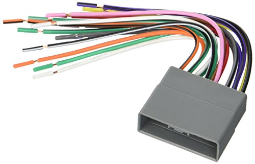 Scosche HA10B Wire Harness to Connect an Aftermarket Stereo Receiver to Select 2006 Honda Vehicles,