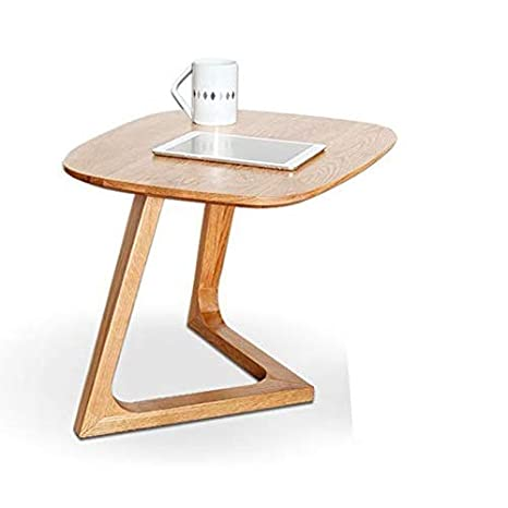 Peachy Amazon Com Sykong Small Coffee Table Nordic White Oak All Alphanode Cool Chair Designs And Ideas Alphanodeonline