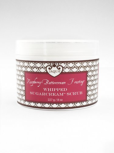 Jaqua Raspberry Buttercream Frosting (JAQUA Beauty Raspberry Buttercream Frosting Handmade Whipped Organic Sugarcream Scrub)