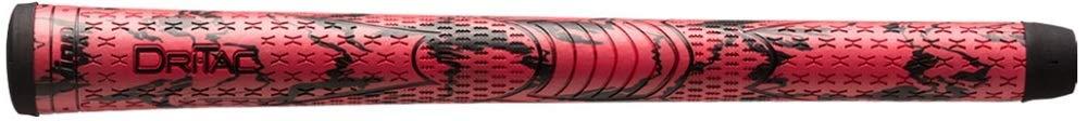 Winn DriTac X Midsize (+1/16'') Red/Black Golf Grips