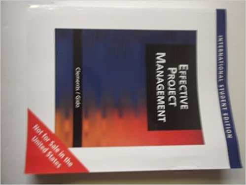 Successful project management 5th edition by gido, jack, clements.
