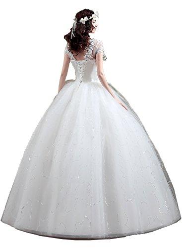 Brautkleider Ivydressing Abendkleider Hochzeitskleid E Spitze Stil Hochwertig Damen 4qw41g