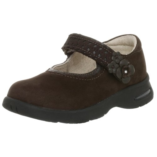Stride Rite Toddler/Little Kid Tech Nubuck Adria Shoe,Dark Brown,9.5 M US - Shoe Adria