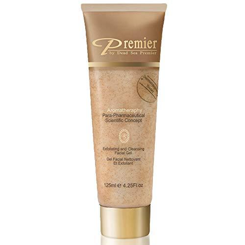 Premier Dead Sea Classic Para-pharmaceutical Exfoliating Face Cleanser Gel Contains Dead Sea Minerals Skin Care Dermatologist Tested, 4.2fl oz