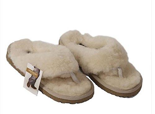 Pantoffeln in Flip-Flop-Stil mit Zehensteg für die Frau