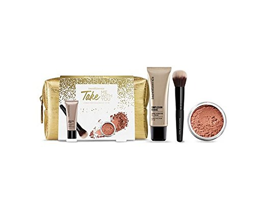 bareMinerals Take Me With You Set for Women, Tan, Blush, Golden Gate, 4 Count