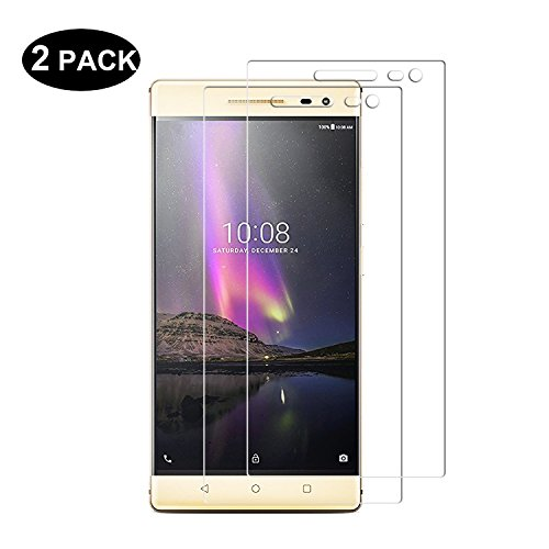 Tempered Glass For Lenovo Phab 2 plus (Clear) - 3