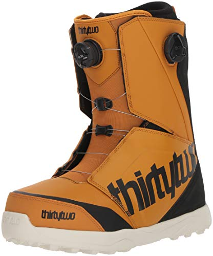 ThirtyTwo Lashed Double Boa '18 Snowboard Boots, Size 11.5, Gold/Black