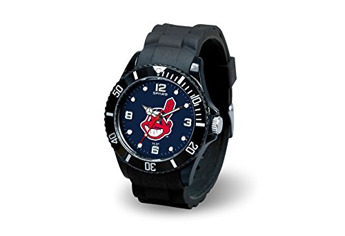 MLB Cleveland Indians Spirit Watch, Black