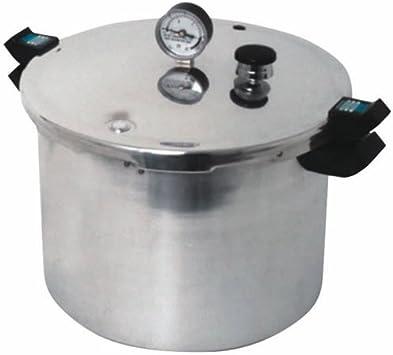 Presto 18-Quart Aluminum Pressure Cooker Canner