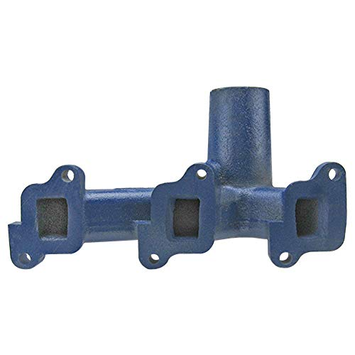 Vertical Exhaust Manifold - C5NE9430E New Ford Manifold Vertical Exhaust 2000, 3000, 4000, 4000SU, 3400+