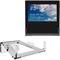 BASSTOP Clear Acrylic Guard Station Protective Stand Holder Wall Mount Bracket for Echo Show Home Speaker, Change Screens Angle