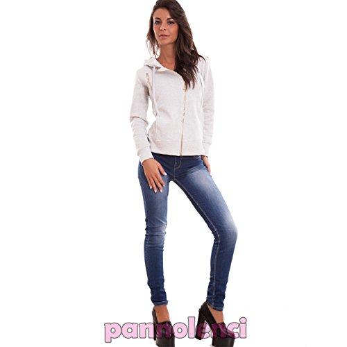 Toocool - Sudadera con capucha - para mujer gris luminoso (ral 7035)