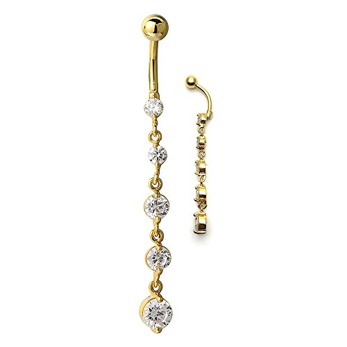 sister belly rings - 8