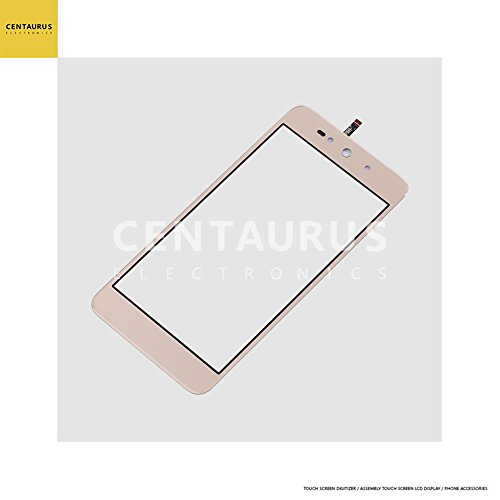 Touch Screen for BLU Grand Energy G130Q G130EQ & Studio Selfie 3 S630Q & Advance 5.0 Pro A170Q 5.0 inch Touch Screen Digitizer Panel (NO LCD) Replacement Parts (Gold)