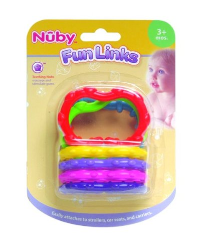 Fun Links - Nuby Teether - 3 Mo.+ Case Pack 72