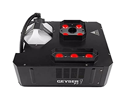 CHAUVET DJ Geyser P7 + 4x Quick-Dissipating Fluid Gallon by Chauvet DJ