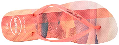 Flop Havaianas Paisage Women's Flip Slim Peach n1w1qR0AY