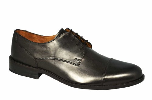 Manz, 142090-02-001, Kay (Ledersohle), Größe 50, schwarz, 100% Leder