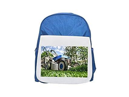Fotomax Cortacésped Jardinería Césped Mochila Azul Infantil Mochila Lindo Mochilas Mochilas Pequeñas Lindo Negro Mochila Mochila