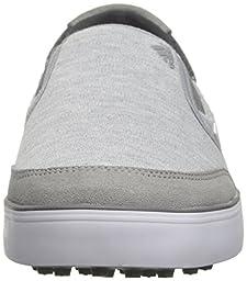 adidas Men\'s Adicross SL Golf Shoe, Core Heather/White/Dark Grey, 12 M US