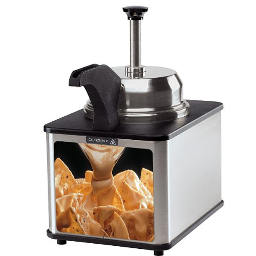 Hot Fudge or Nacho Cheese Topping Dispenser with Pump & Spout by KegWorks