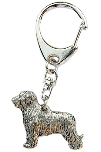 - DOG ARTS JP Briard Made in U.K Artistic Style Dog Key Ring Collection