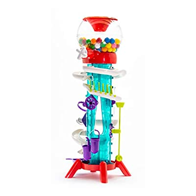 Thames & Kosmos Gumball Machine Maker Lab - Super Stunts & Tricks | Build Your Own Gumball Machines with Lessons in Physics & Engineering | 12 Experiments | Includes Delicious Gumballs | Award Winner: Toys & Games