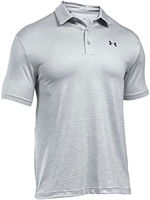 Under Armour UA Playoff Polo de Manga Corta, Hombre, Gris Claro ...