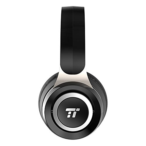 TaoTronics Bluetooth Headphones with Dual 40 mm Drivers, Lightweight Over Ear Headphones