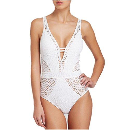 White Lace Bikini - 5